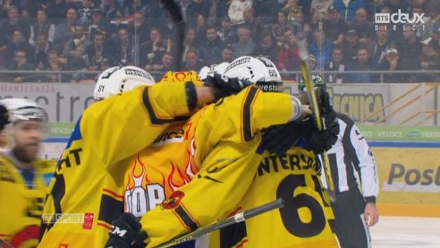 Finale, acte I : HC Lugano – CP Berne (2-1): Untersander réduit la marque pour Berne [RTS]