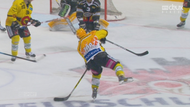 Finale, acte I : HC Lugano – CP Berne (2-2): égalisation bernoise [RTS]