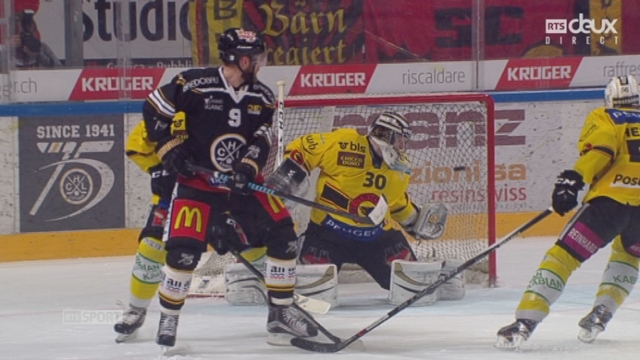 Finale, acte I : HC Lugano – CP Berne (4-3): match totalement fou! Lugano reprend maintenant l'avantage [RTS]