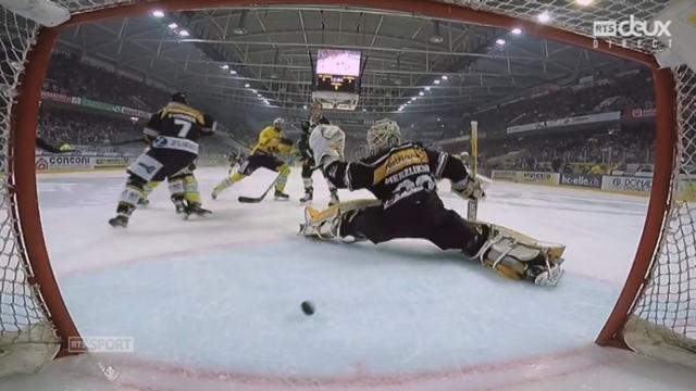 Finale, acte I : HC Lugano – CP Berne (4-4): Scherwey remet les 2 équipes à égalité [RTS]
