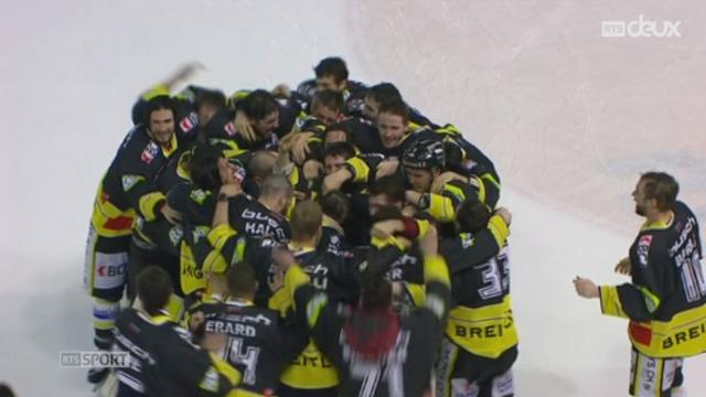 Hockey - LNB: le HC Ajoie devient champion face à Rapperswil (4-2) [RTS]