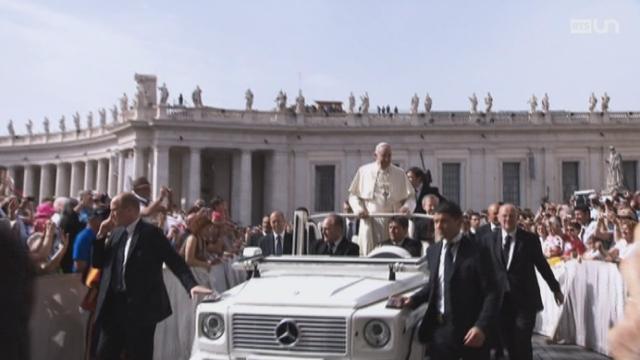 Vent nouveau sur le Vatican? Trois Suisses au coeur de l'Eglise universelle [RTS]