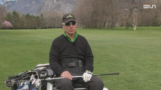 Le Mag: un sportif d'élite gravement atteint aux jambes s'est reconstruit à travers le golf [RTS]