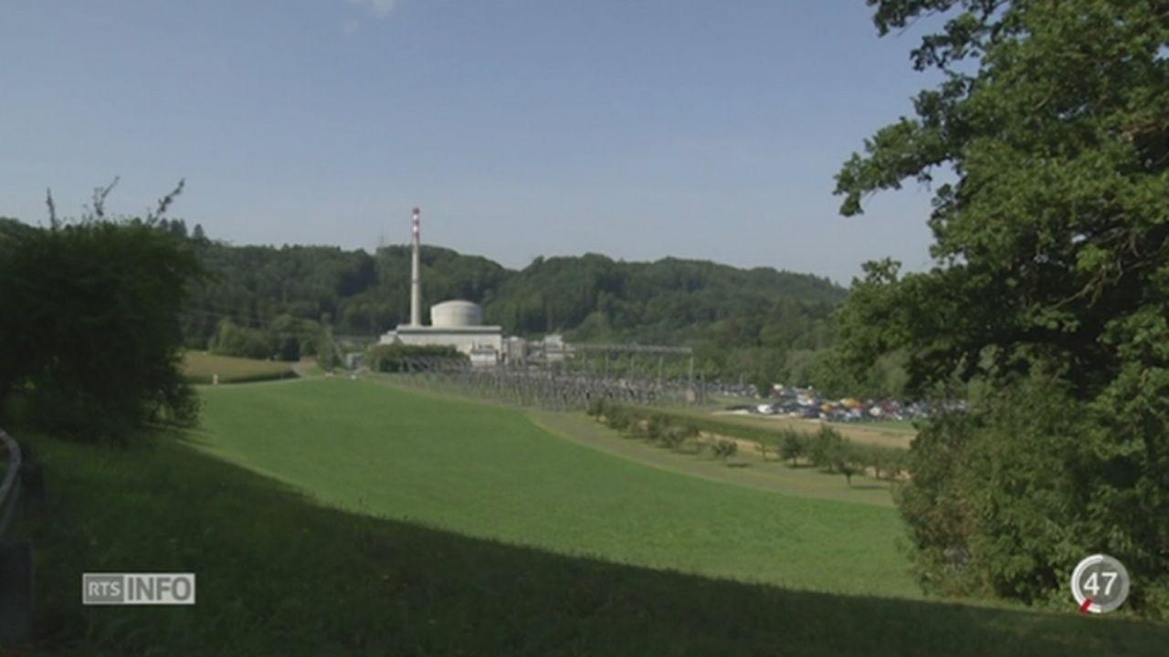 Le BKW a présenté le plan de démantèlement de la centrale de Mühleberg [RTS]