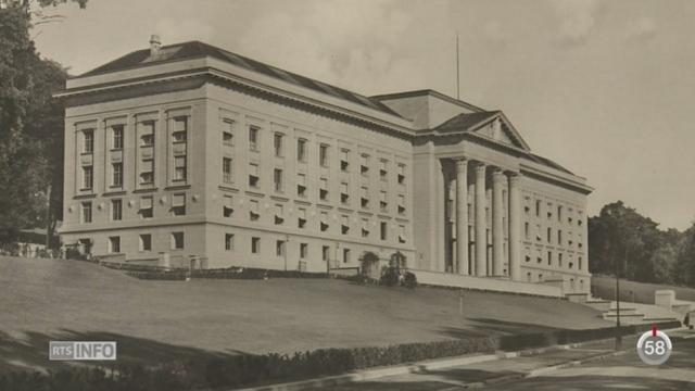 VD: une exposition est consacrée à l'histoire des bâtiments fédéraux [RTS]