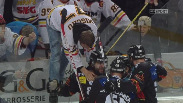 Finale, acte II : CP Berne – HC Lugano (1-0): en fin de 3e tiers, Berne ouvre le score [RTS]