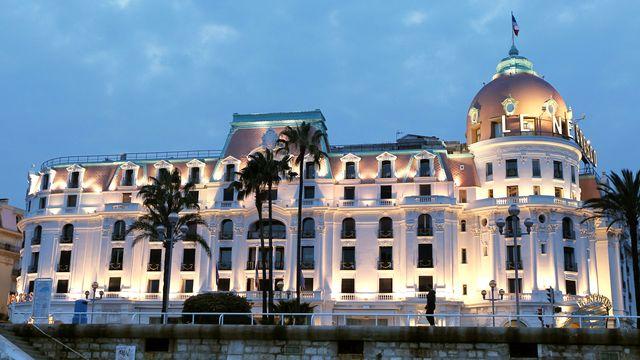 L'hôtel Negresco à Nice en France. [Valery Hache - AFP]