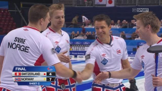 titre: Suisse - Norvège (4-7): nouvelle défaite pour l'équipe de Suisse [RTS]