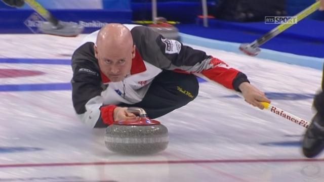 Messieurs, Canada – Suisse (8-2): malgré une petite remontée la Suisse n'a pas fait le poids contre le Canada [RTS]