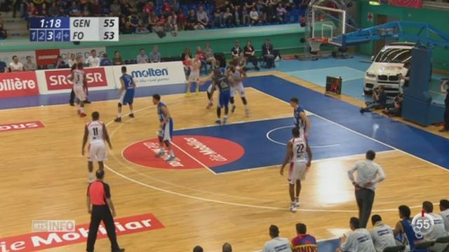 Basket - Coupe de Suisse: Fribourg Olympic a remporté la Coupe de Suisse face à Genève [RTS]