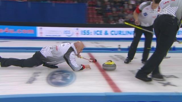 Finale, Danemark - Canada (3-5): les Canadiens marquent 2 points et prennent l'avantage avant le dernier end [RTS]