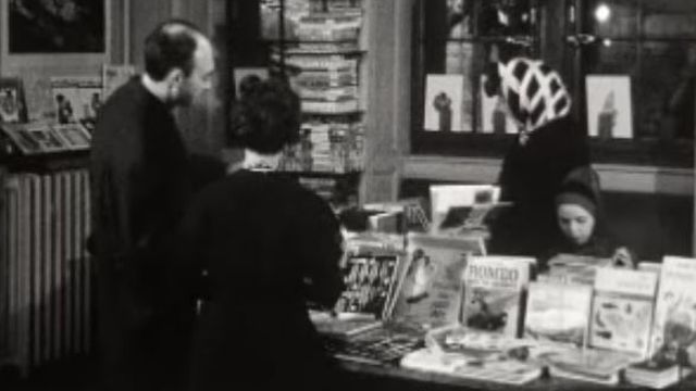 Librairie La Joie de lire à Genève en 1966 [RTS]