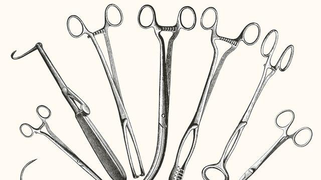 Des instruments de chirurgie du début du XXe siècle. lynea Fotolia [lynea - Fotolia]