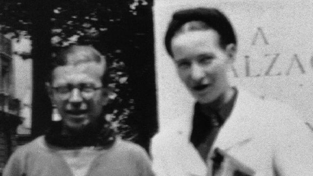 Simone de Beauvoir et Jean-Paul Sartre. [Domaine public]