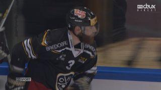 Finale, acte V, HC Lugano - CP Berne (1-0): Julien Vauclair est le premier buteur de cette soirée [RTS]