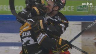 Finale, acte V, HC Lugano - CP Berne (2-2): Luca Fazzini parvient à égaliser pour Lugano en début de 3e période [RTS]
