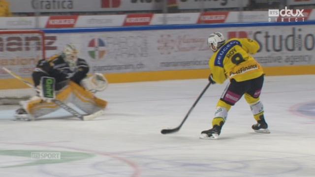 Finale, acte V, HC Lugano - CP Berne (2-3): seul devant la cage Derek Roy permet à Berne de reprendre la main [RTS]