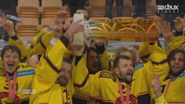 Finale, acte V, HC Lugano - CP Berne (2-3): le CP Berne remporte sa 14e victoire en ligue nationale [RTS]