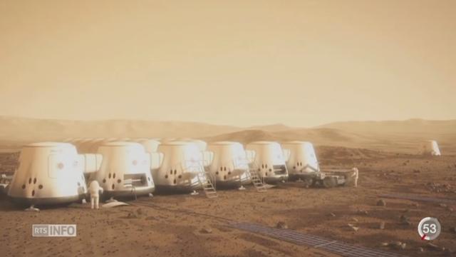 """Le projet """"Mars One"""" veut installer une colonie sur la planète rouge [RTS]"""