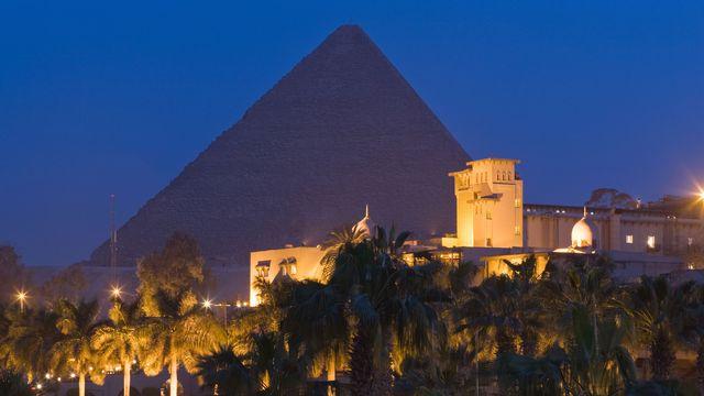 L'hôtel Mena House au Caire. [AFP]