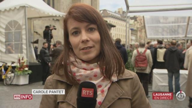 Séance extra-muros du Conseil fédéral à Lausanne: les précisions de Carole Pantet à Lausanne [RTS]