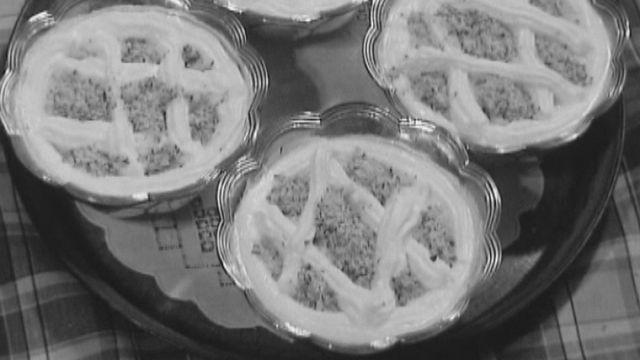 Dessert à la rhubarbe [RTS]