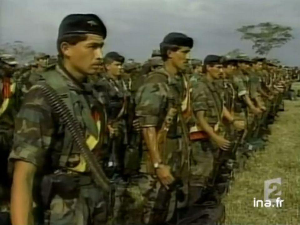 État d'urgence en Colombie, août 2002. [INA]