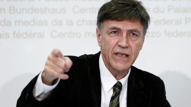 Le conseiller national argovien Luzi Stamm (UDC). [Peter Klaunzer - Keystone]