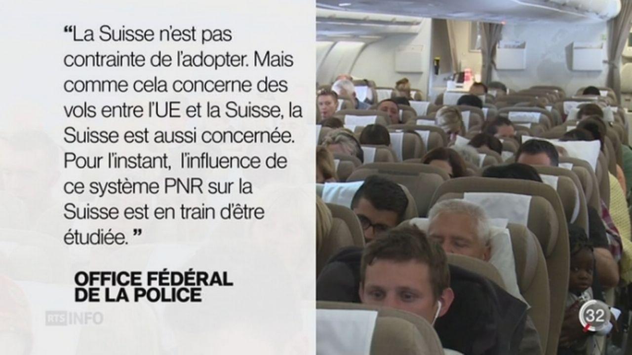 Les passagers aériens seront bientôt fichés en Europe [RTS]