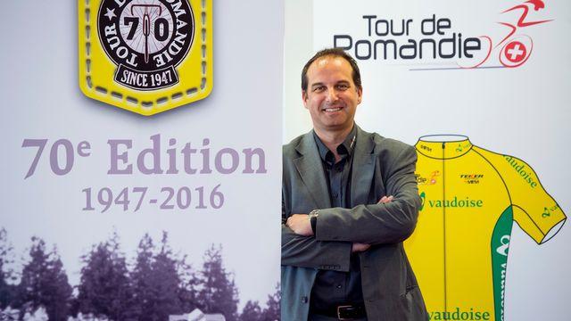 """Richard Chassot: """"Cela fait 4-5 ans que le Tour de Romandie sert de répétition avant la Grande Boucle"""". [Jean-Christophe Bott - Keystone]"""