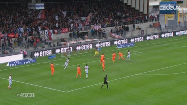 Football - Super League: Sion – Grasshopper (2-1) + interview de Vincent Sierro (milieu de terrain du FC Sion) [RTS]