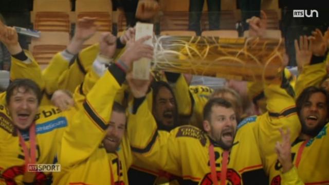 Hockey: le CP Berne a remporté la finale des Playoffs [RTS]