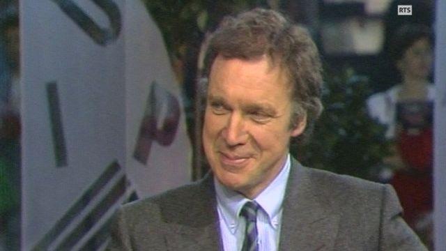 Pierre-Marcel Favre en interview au Salon du Livre en 1987 [RTS]