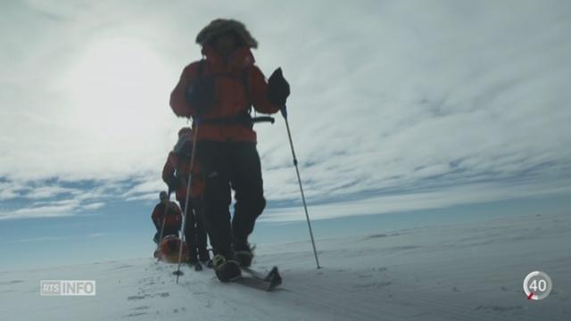 L'EPFL accueille un institut de référence dans l'étude du Pôle Nord et du Pôle Sud [RTS]
