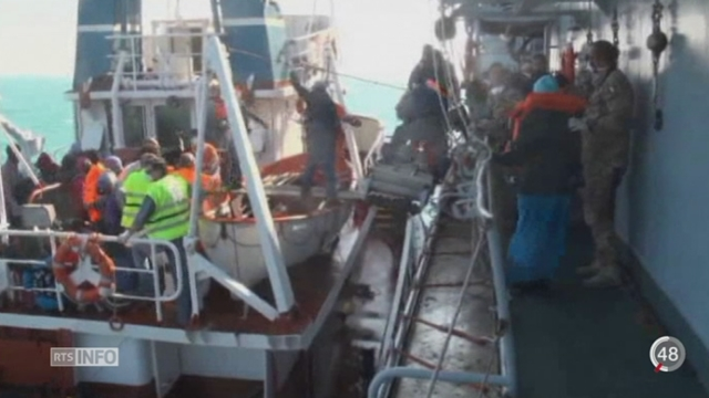 Crise migratoire: les naufrages continuent de faire des centaines de victimes [RTS]