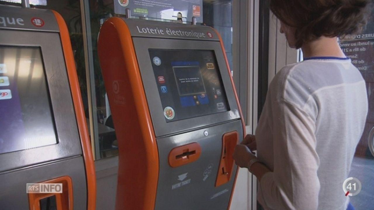 Les accros aux machines de la loterie romande peuvent perdre des milliers de francs en quelques heures [RTS]