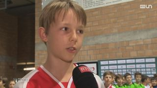 Le Unihockey est un sport encore peu connu en Suisse romande [RTS]