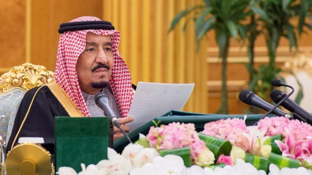 Le roi d'Arabie saoudite Salman bin Abdulaziz le 28 décembre dernier. [HO/SPA/AFP]