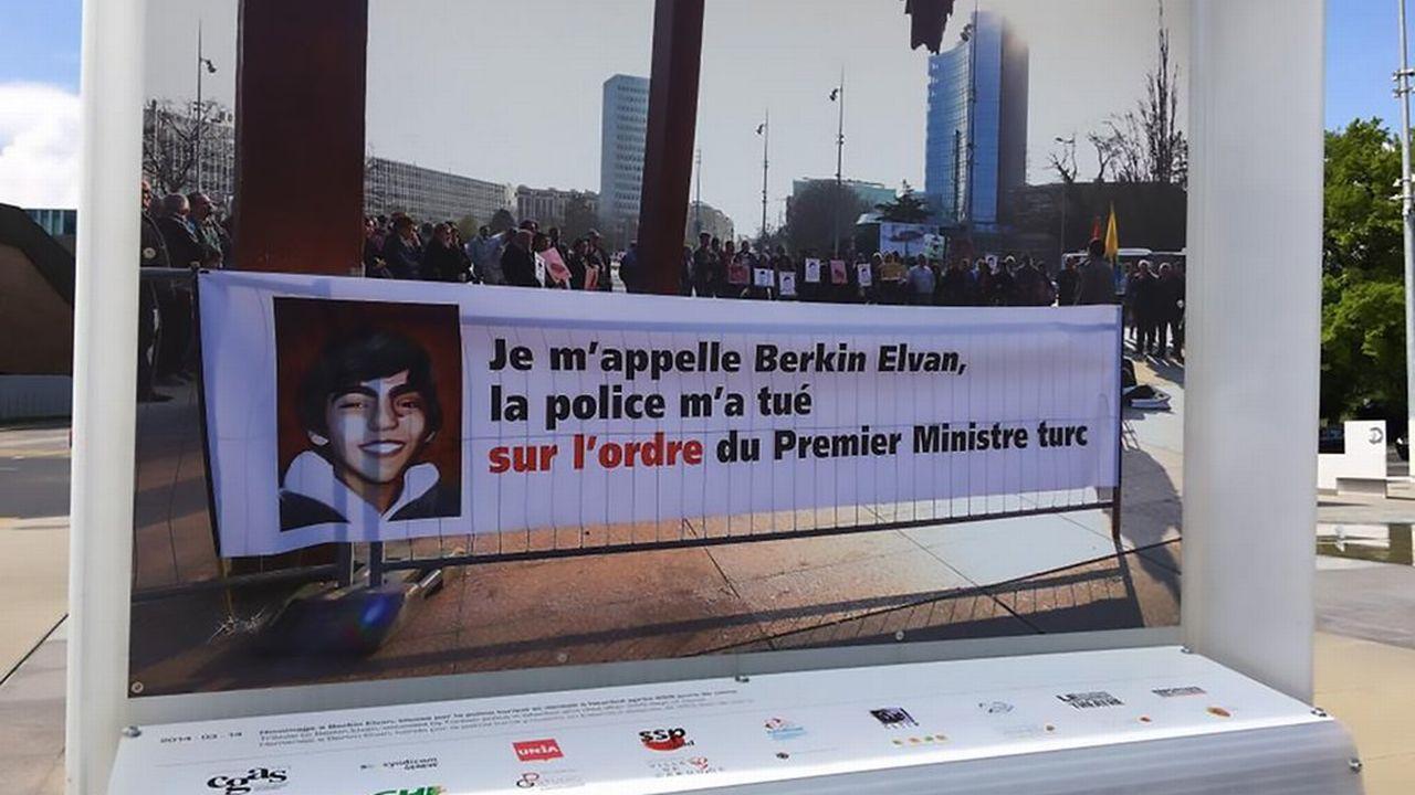 L'image dénoncée par le Consulat de Turquie. [@photographyge by Demir SÖNMEZ - Twitter]