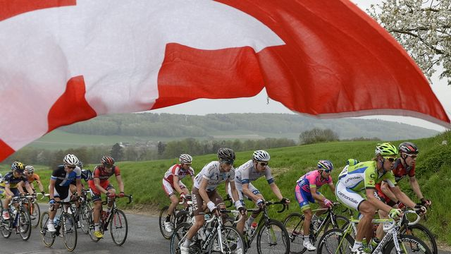 Grimpeurs, rouleurs, baroudeurs ou sprinters, tout le monde devrait s'y retrouver cette semaine au Tour de Romandie. [Jean-Christophe Bott - Keystone]