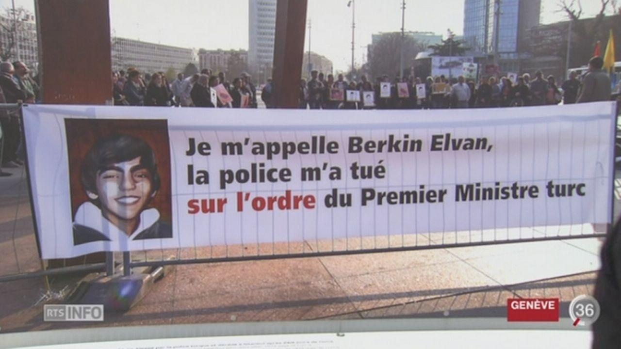GE: Genève refuse de retirer une photo, exposée à la Place des Nations, qui déplaisait à la Turquie [RTS]