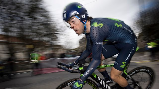 Jon Izaguirre a remporté le prologue mardi. [Laurent Gillieron - Keystone]