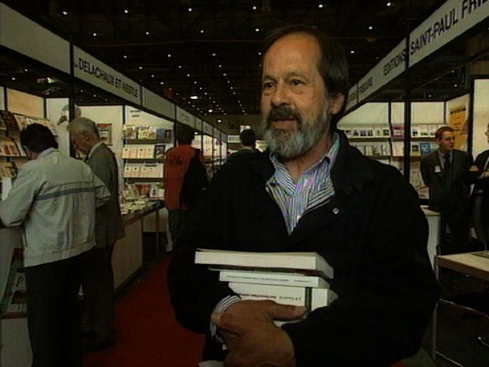 Visiteur du Salon du livre 1997. [RTS]