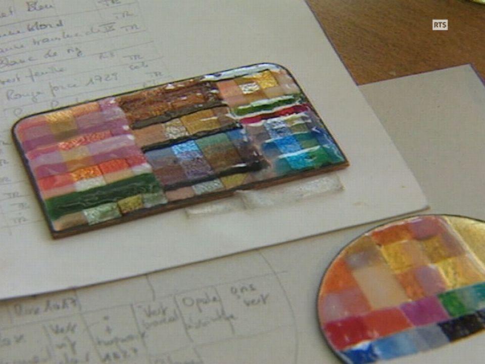 L'art de l'émail en 2005. [RTS]