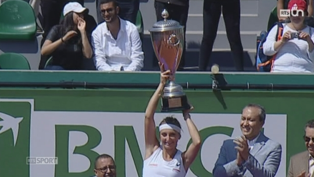 Tennis - WTA Rabat: Timea Bacsinszky remporte la finale face à Marina Erakovic [RTS]