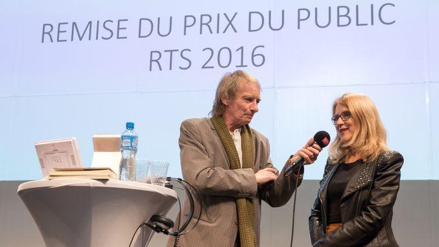 Patrick Ferla reçoit Anne-Claire Decorvet  [Jay Louvion - RTS]