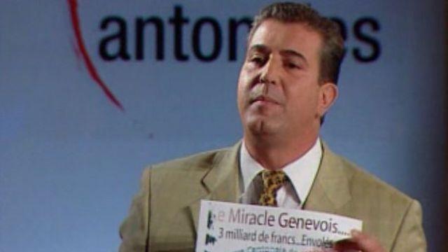 Eric Stauffer, candidat du MCG [RTS]
