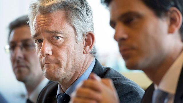 Pierre Contat, député UDC valaisan. [Laurent Gillieron - Keystone]