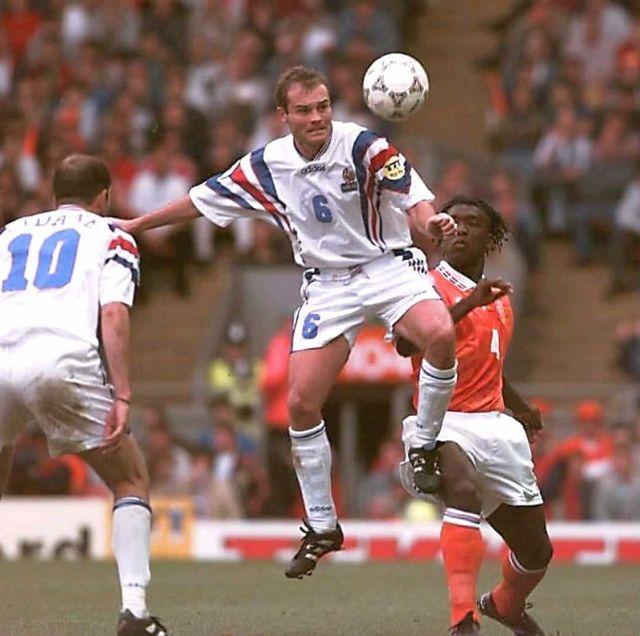 Vincent Guérin était un pion essentiel de l'équipe de France lors de l'Euro 1996. [Vincent Amalvy - AFP]