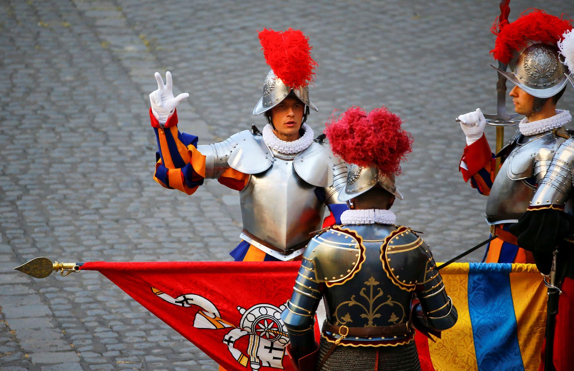 nouveaux soldats du pape les